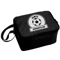 Personalised Football Fan Lunch Bag - Newcastle / Spurs Fan - Perfect gifts for Birthdays, Back To School, Holidays, Christmas.